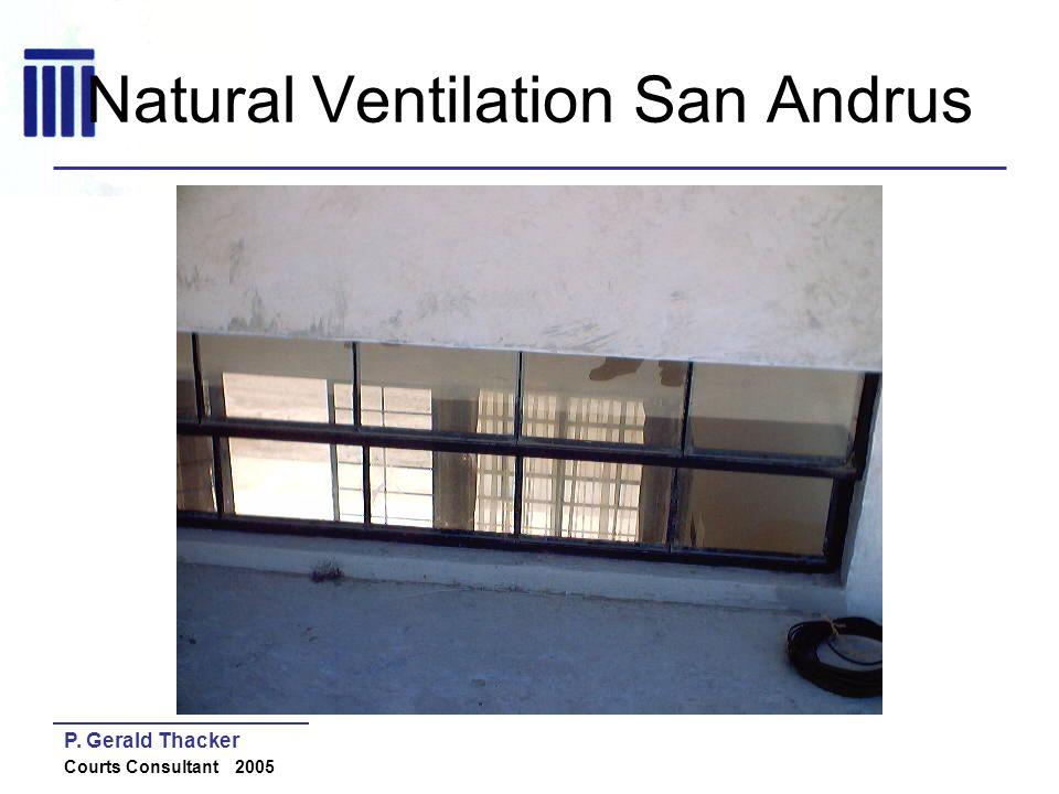 Natural Ventilation San Andrus