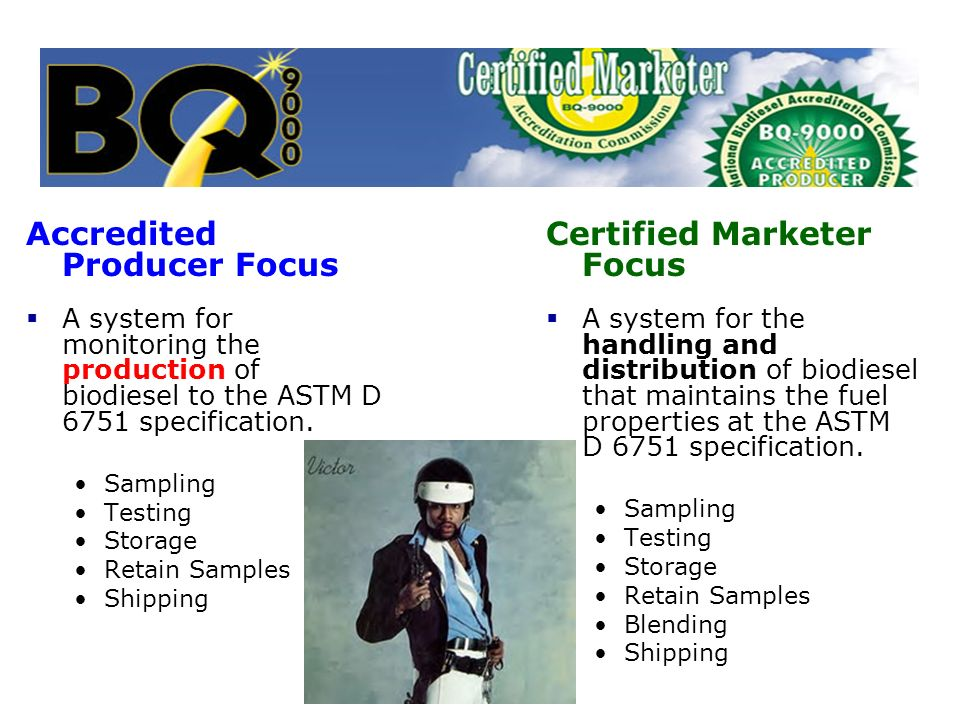 Accredited Producer Focus Certified Marketer Focus