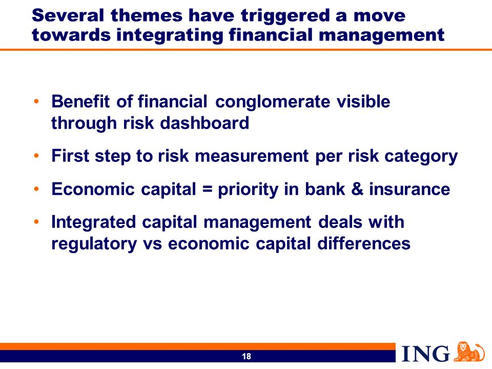 Several themes have triggered a move towards integrating financial management