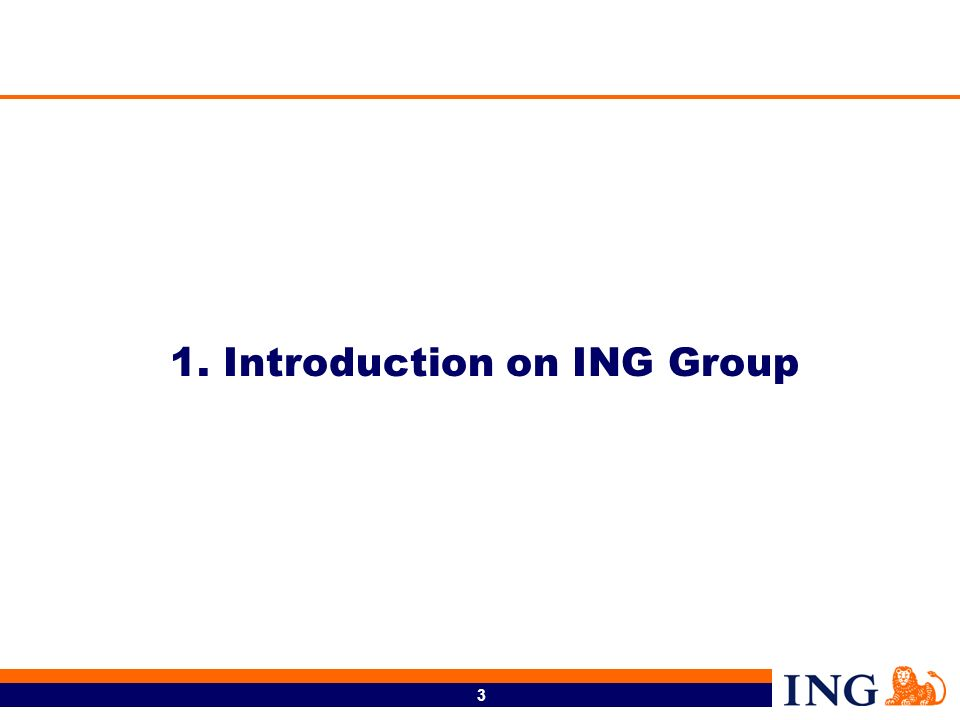 1. Introduction on ING Group