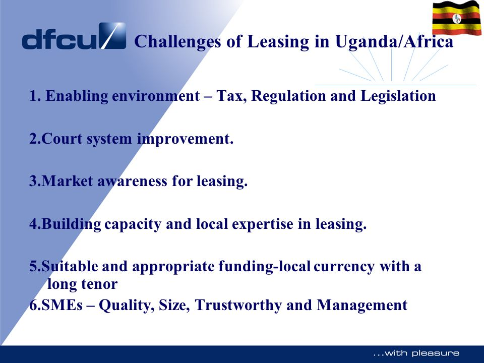 Challenges of Leasing in Uganda/Africa