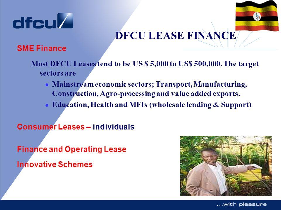 DFCU LEASE FINANCE SME Finance