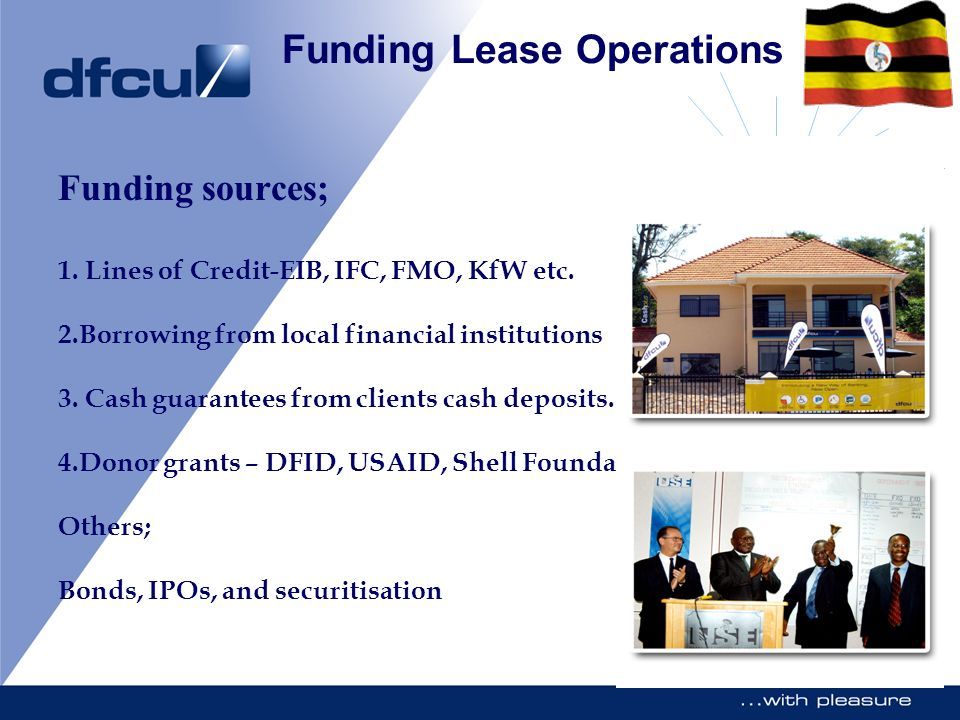 Funding Lease Operations