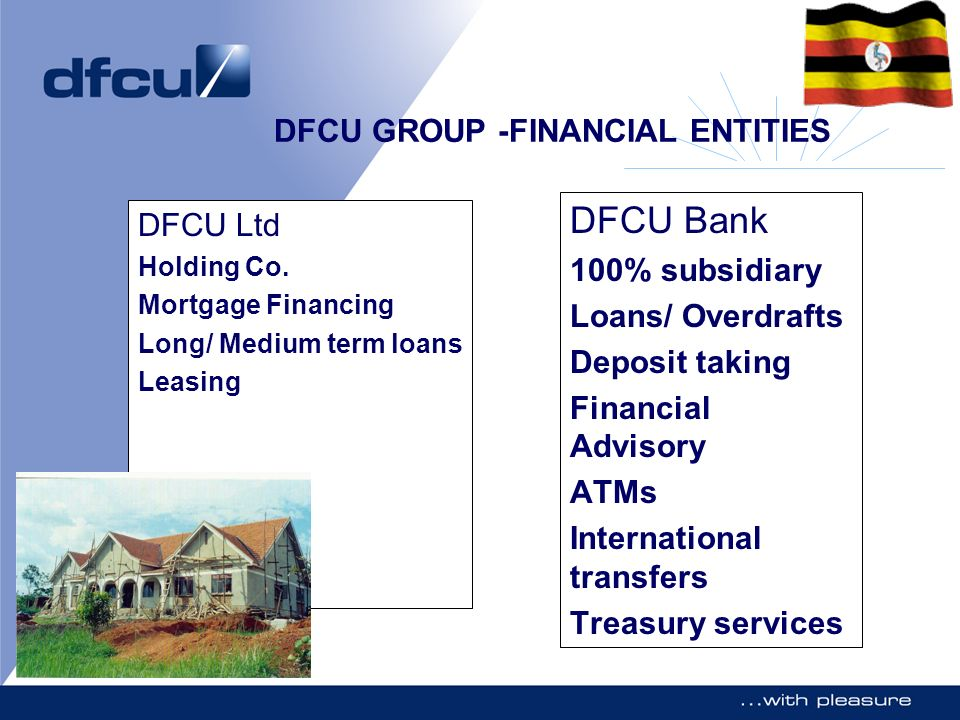 DFCU GROUP -FINANCIAL ENTITIES