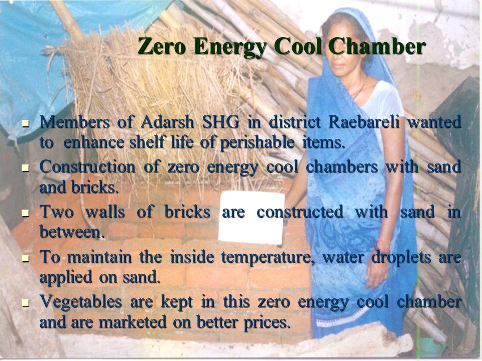 Zero Energy Cool Chamber