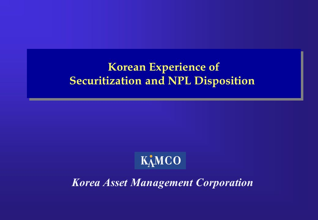 Korea Asset Management Corporation