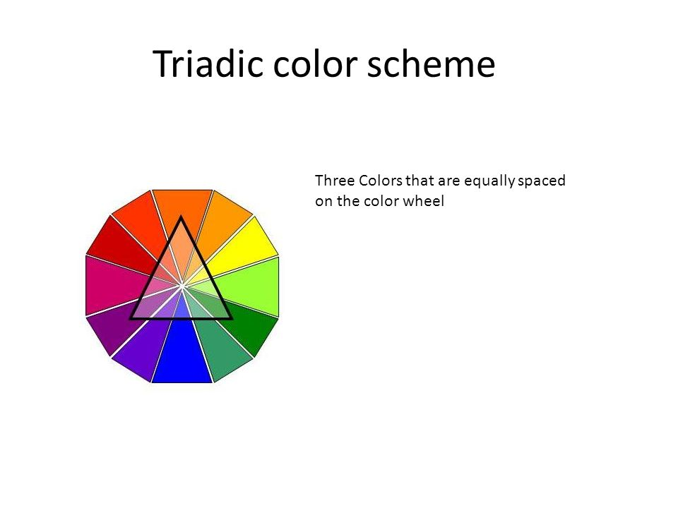 brief history of color theories the color wheel ppt video online download. Black Bedroom Furniture Sets. Home Design Ideas