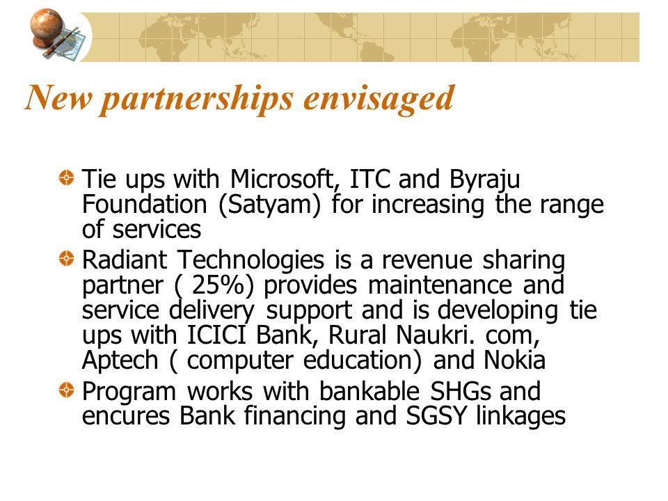 New partnerships envisaged