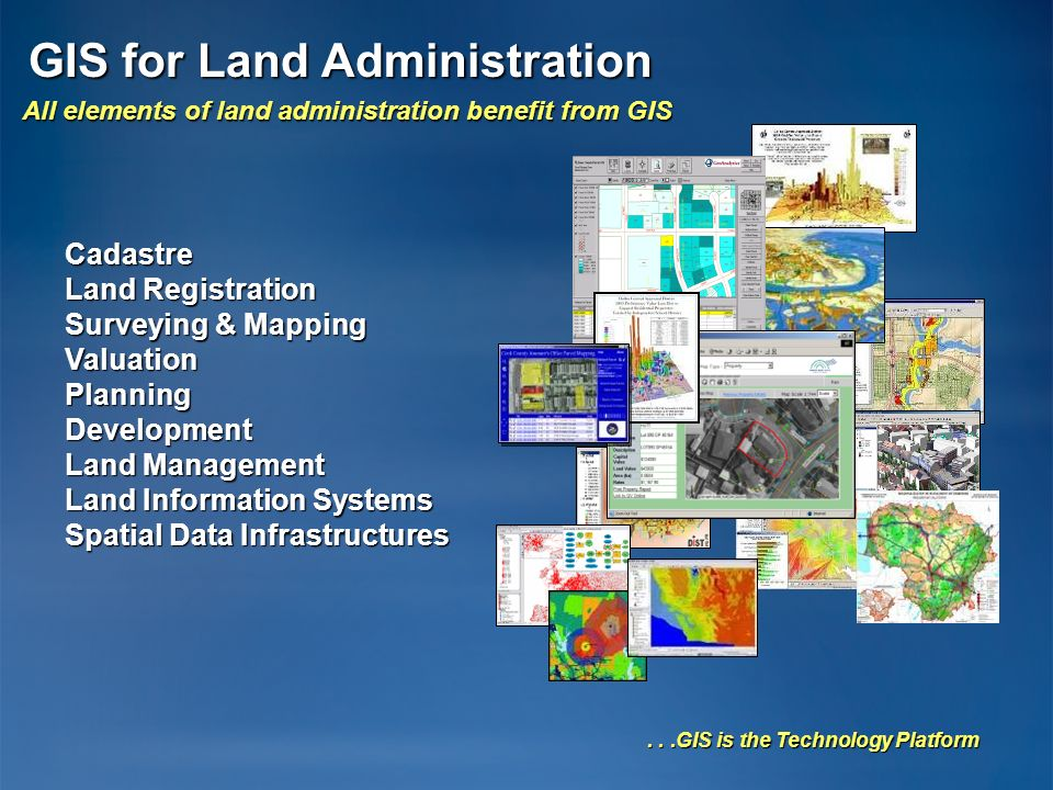GIS for Land Administration