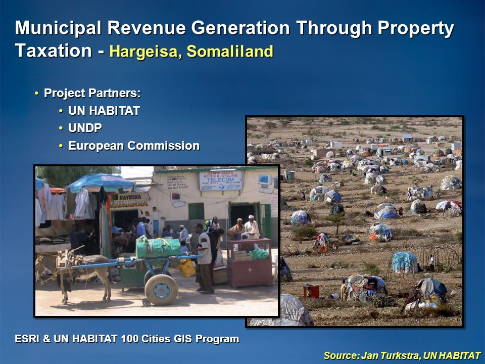 Municipal Revenue Generation Through Property Taxation - Hargeisa, Somaliland