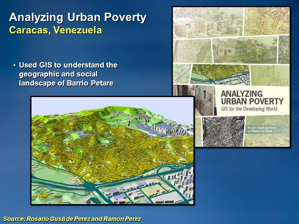 Analyzing Urban Poverty Caracas, Venezuela