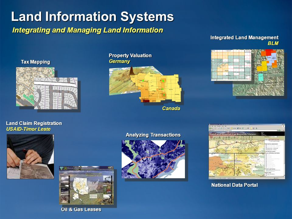 Integrating and Managing Land Information