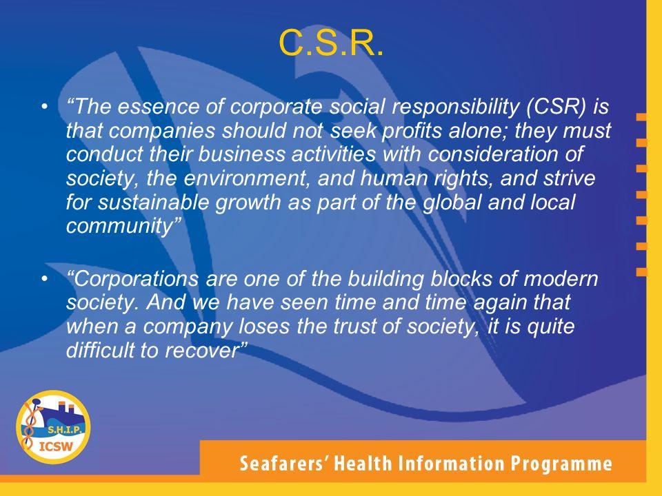 C.S.R.