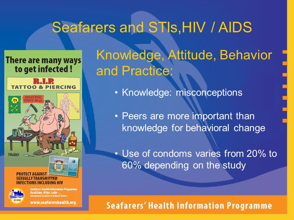 Seafarers and STIs,HIV / AIDS