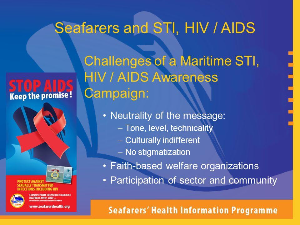 Seafarers and STI, HIV / AIDS