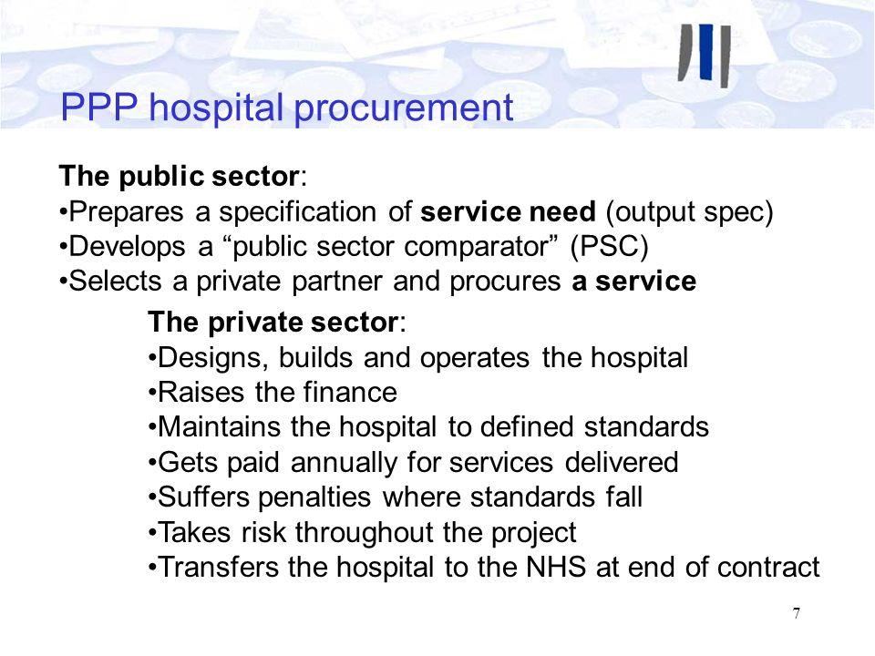 PPP hospital procurement
