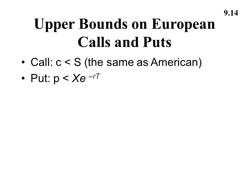 Stock options american or european