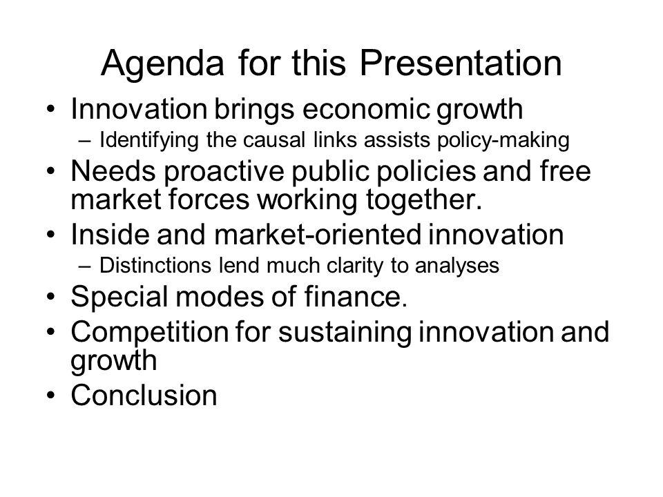 Agenda for this Presentation