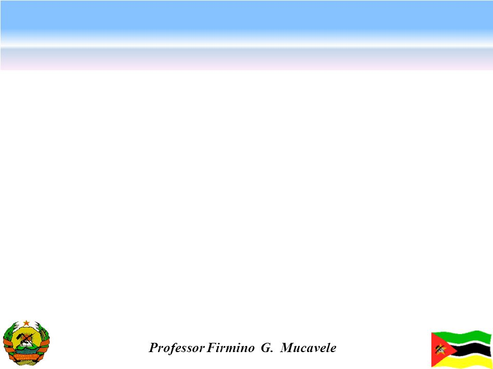 Professor Firmino G. Mucavele