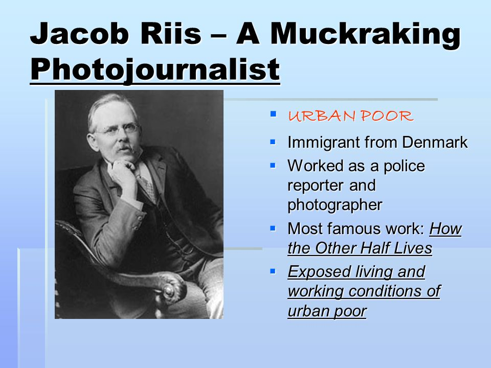 Muckrakers Of The Progressive Reform Era Ppt Video