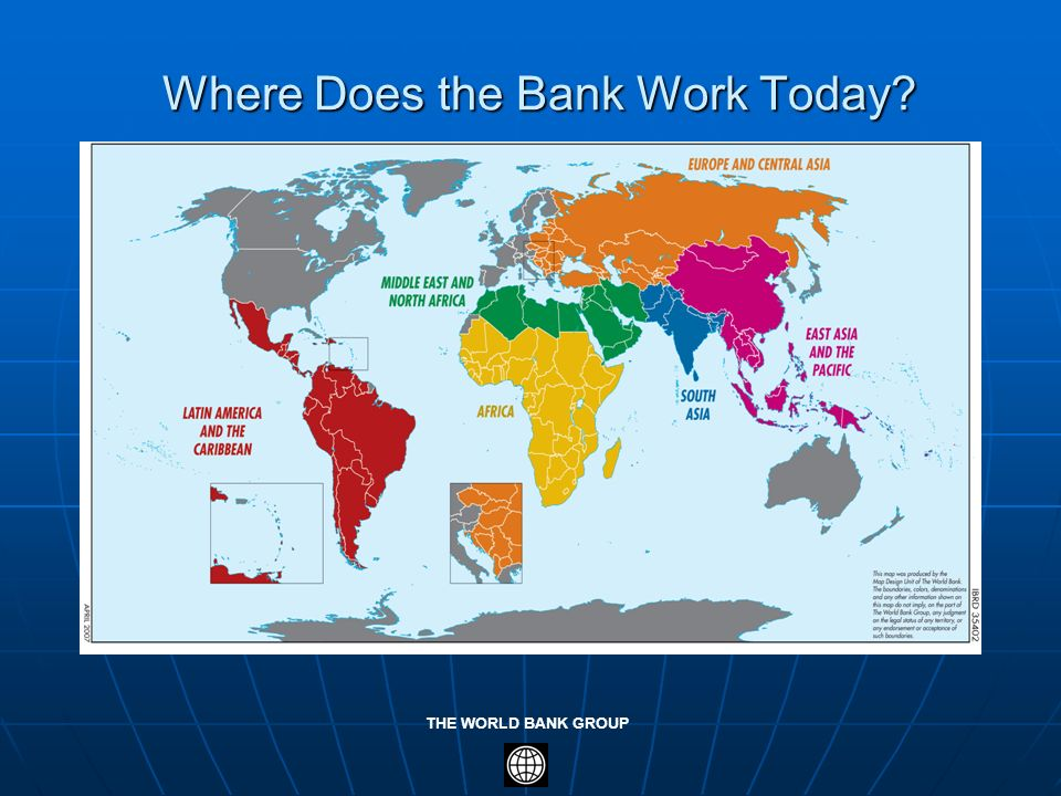 Where Does the Bank Work Today