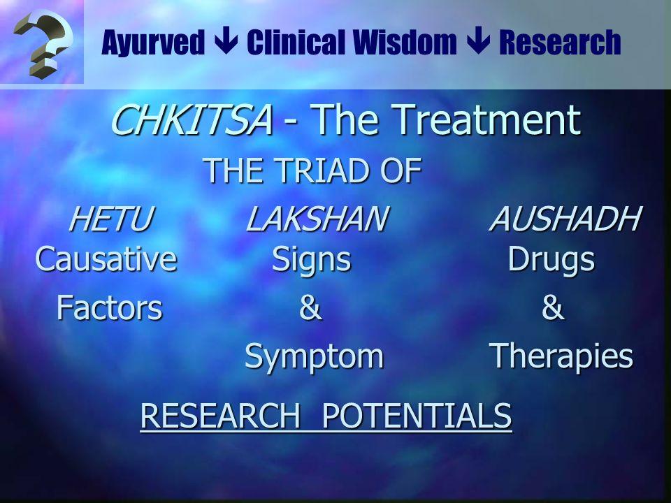 CHKITSA - The Treatment