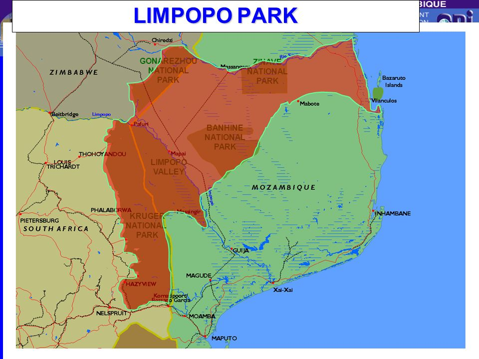 LIMPOPO PARK GONAREZHOU ZINAVE BANHINE LIMPOPO VALLEY KRUGER NATIONAL
