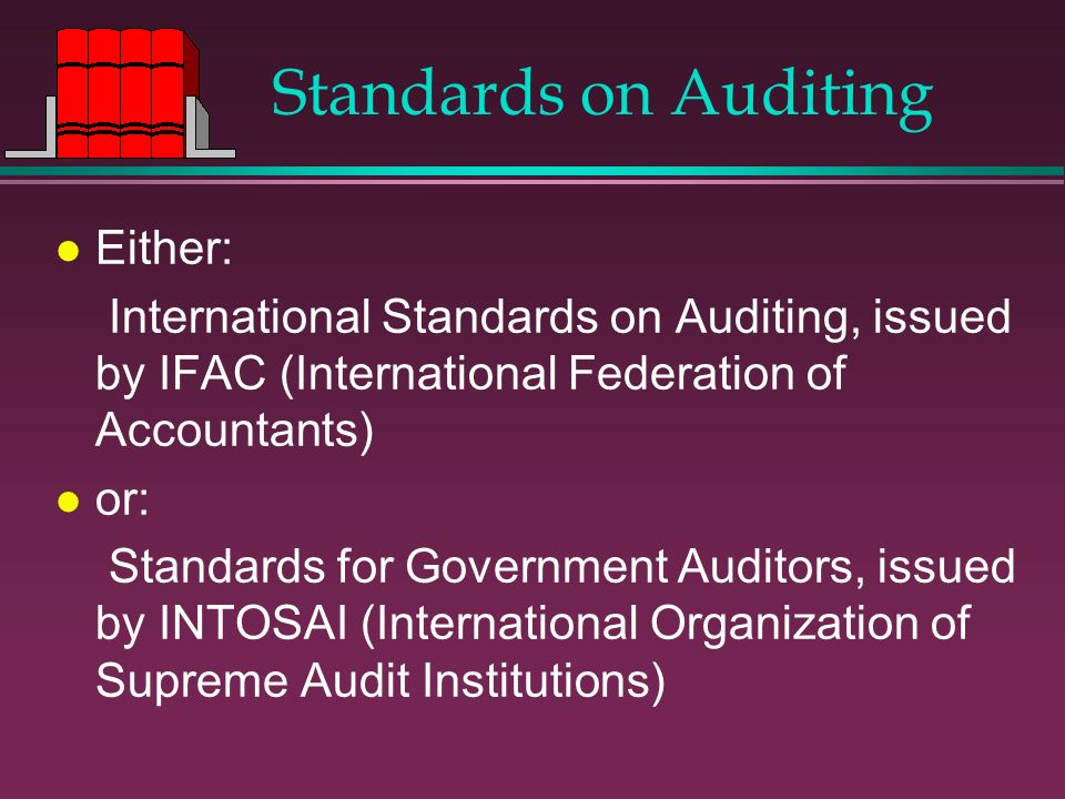 Standards on Auditing Either: