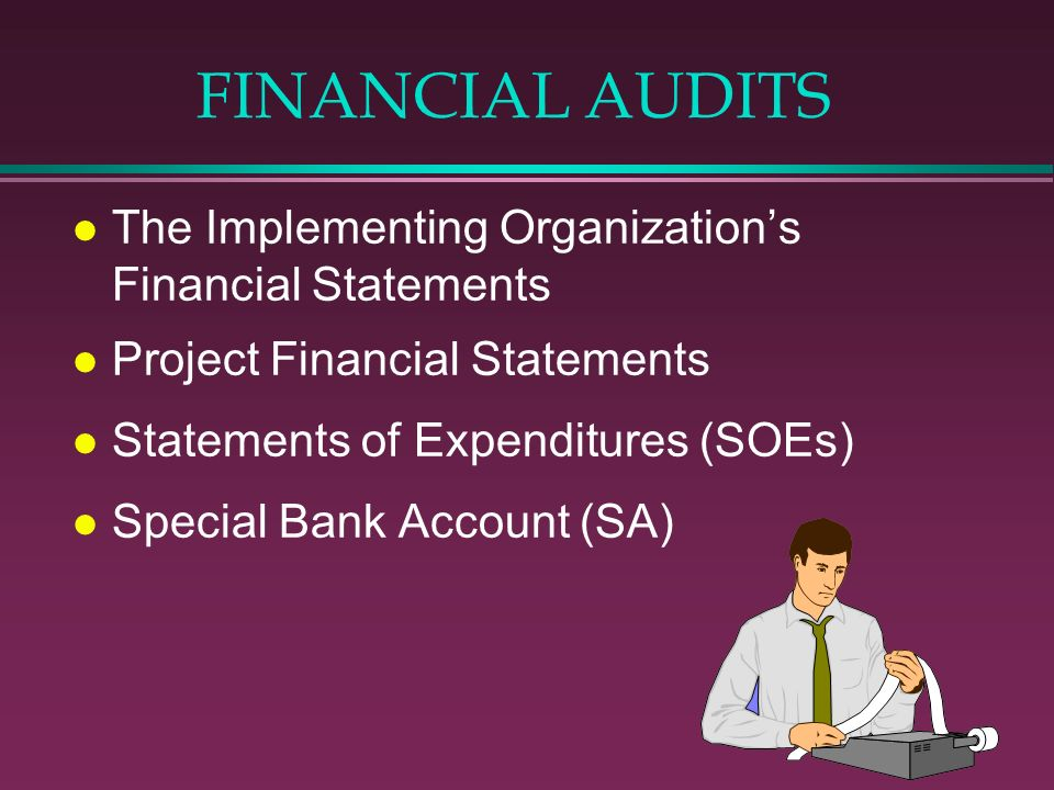 FINANCIAL AUDITS The Implementing Organization's Financial Statements