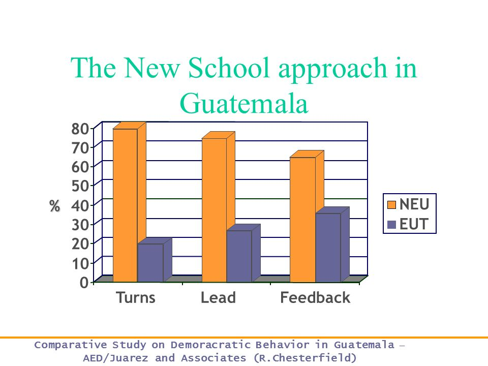 The New School approach in Guatemala