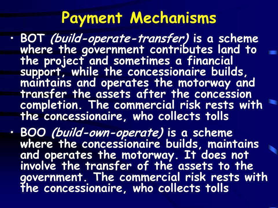 Payment Mechanisms