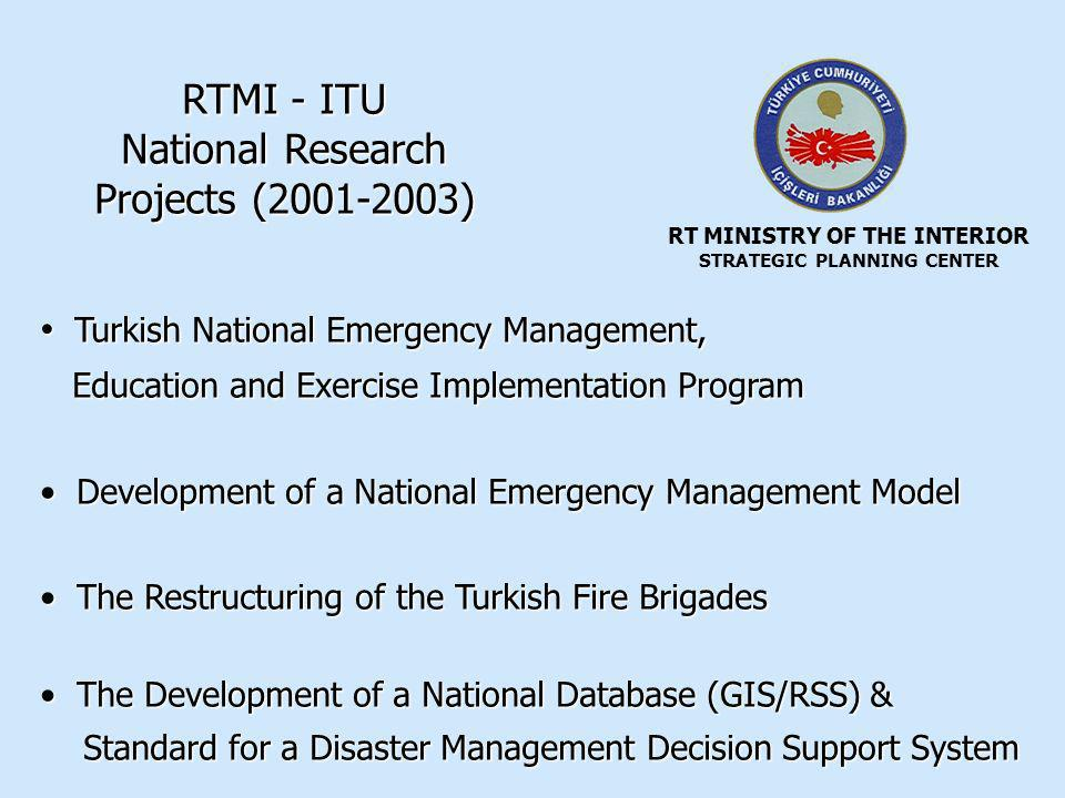 RT MINISTRY OF THE INTERIOR STRATEGIC PLANNING CENTER