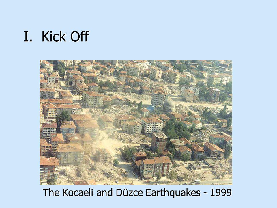 The Kocaeli and Düzce Earthquakes - 1999