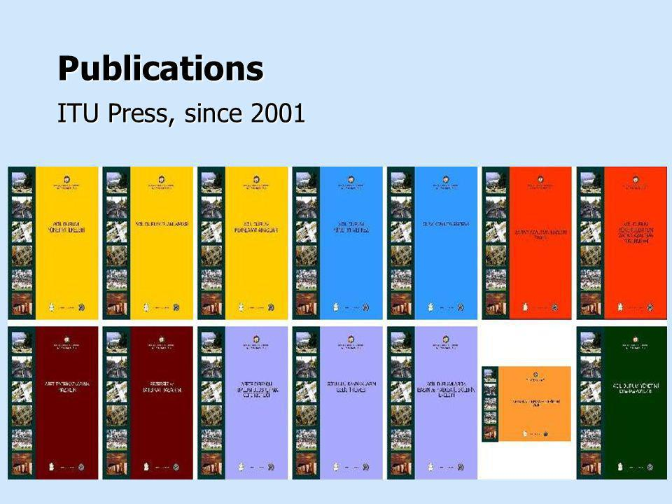 Publications ITU Press, since 2001
