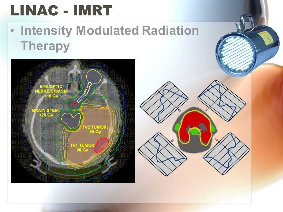 LINAC - IMRT Intensity Modulated Radiation Therapy