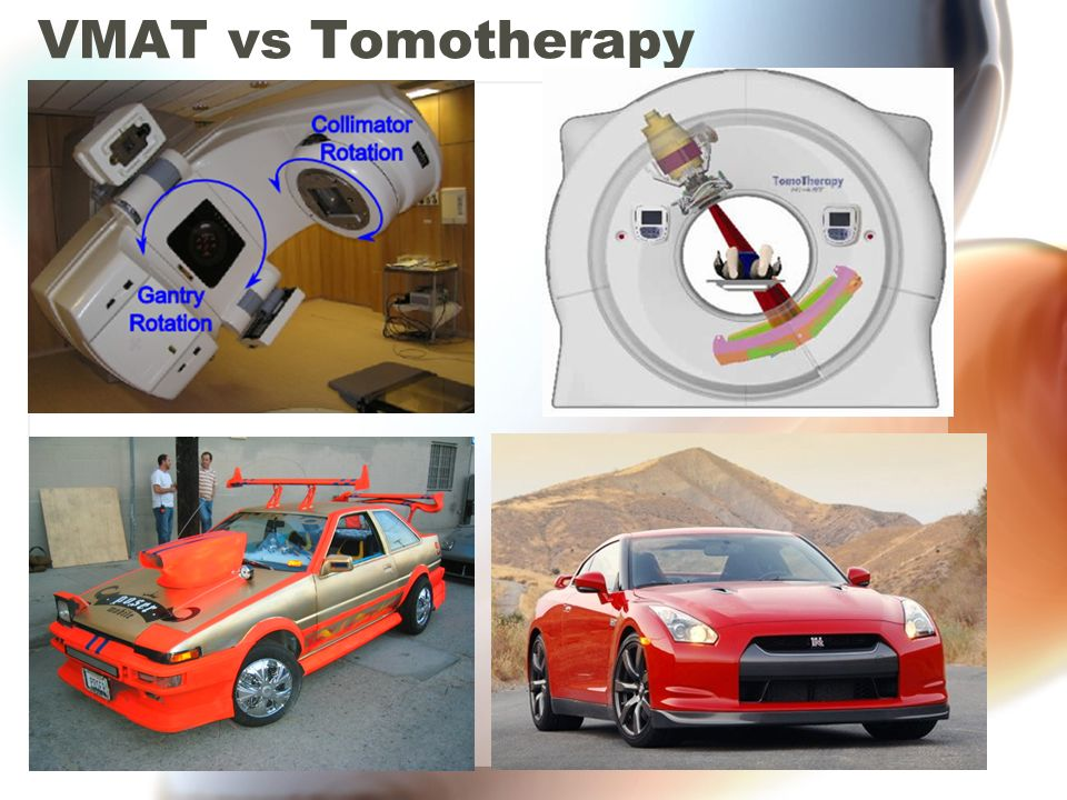 VMAT vs Tomotherapy