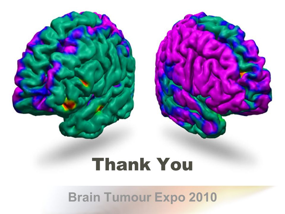 Thank You Brain Tumour Expo 2010