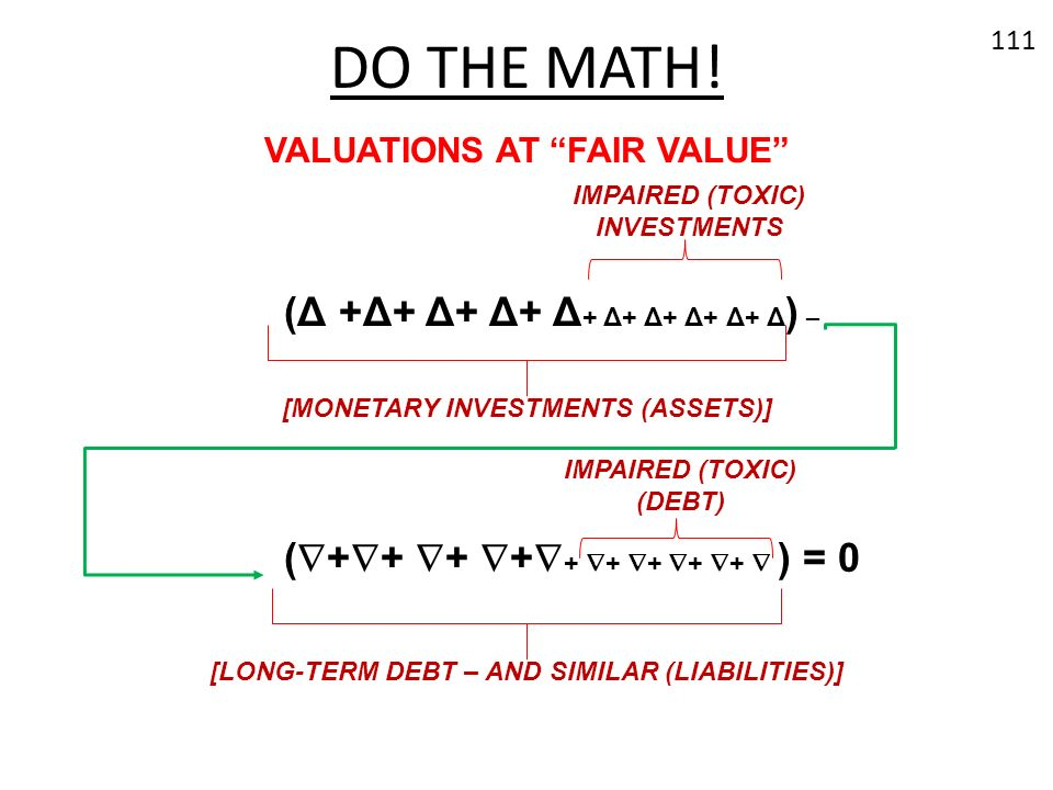 DO THE MATH! (Δ +Δ+ Δ+ Δ+ Δ+ Δ+ Δ+ Δ+ Δ+ Δ) –
