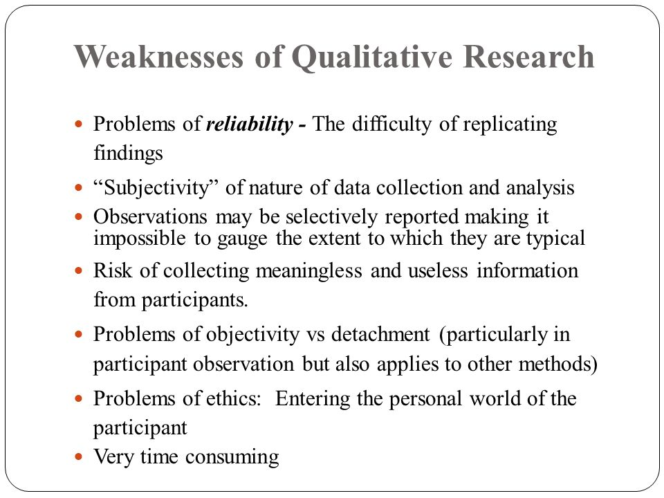 Annex 2: Strengths and Weaknesses of Qualitative Evaluation Designs