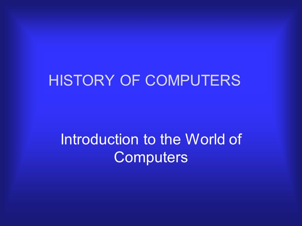 the introduction to computers How is 100 different from other intro programming courses offered at mit 100  is a first course in programming it assumes no prior experience, and it focuses.
