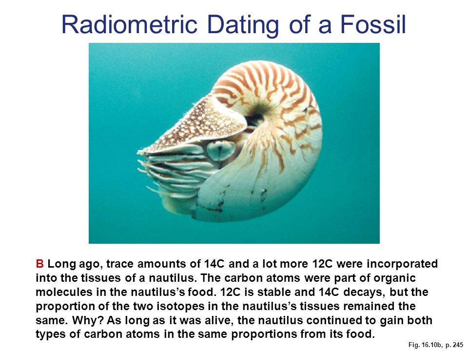 Other forms of radiometric dating