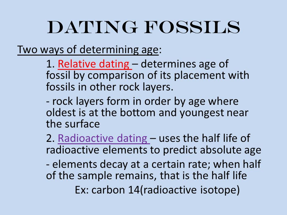 Difference Between Relative And Absolute Dating Method