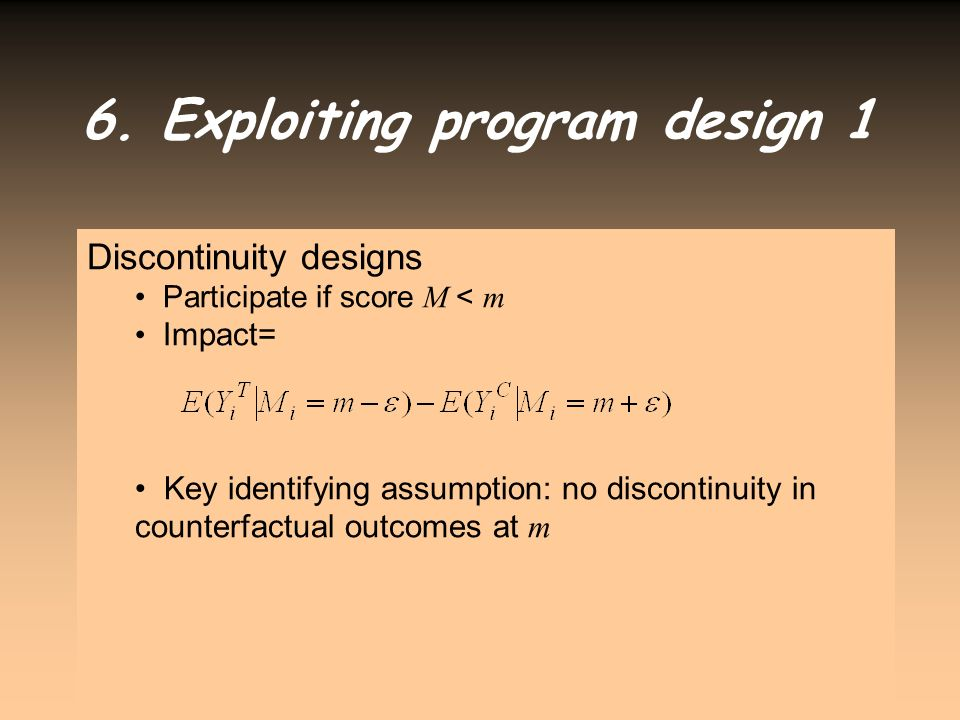 6. Exploiting program design 1