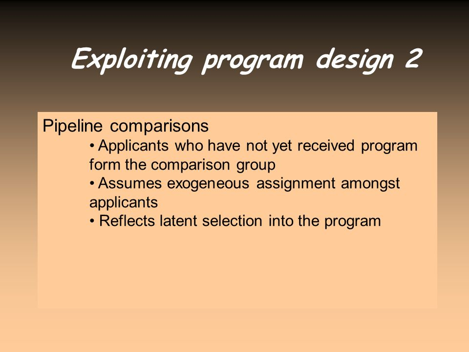Exploiting program design 2