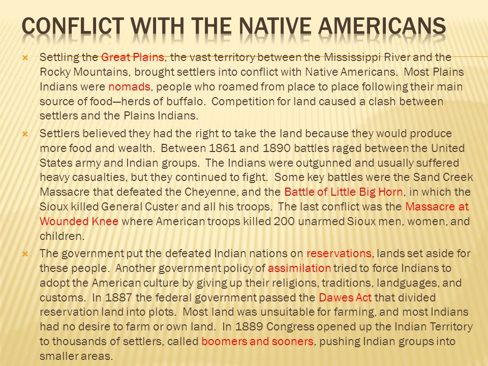 native americans conflict with the english Native americans- contact and conflict  stay here first successful permanent  english colony was established in jamestown in what is now the state of virginia .