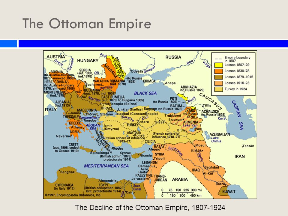 Part I | The Decline of the Ottoman Empire