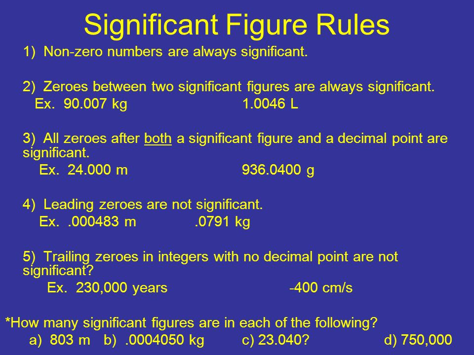 how to put significance in slides