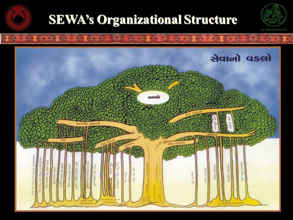 SEWA's Organizational Structure