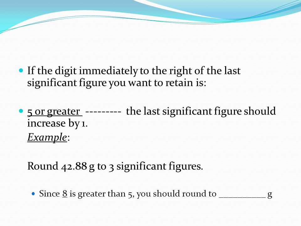 Round g to 3 significant figures.