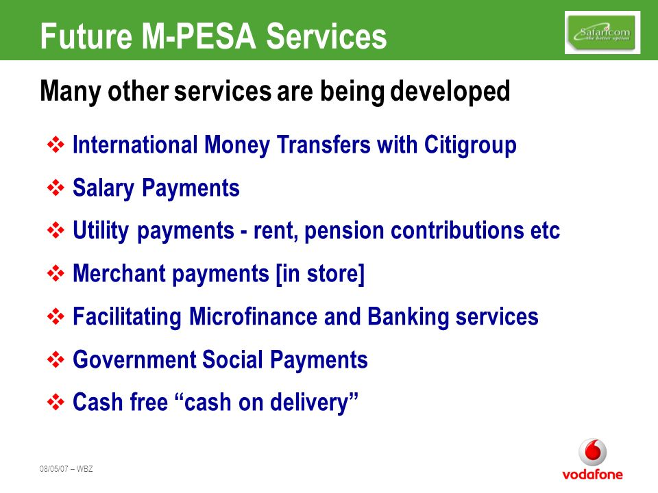 Future M-PESA Services
